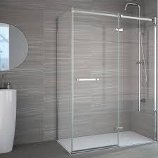 Merlin Shower Doors Merlyn 8 Series Frameless Shower Enclosure Side Panel 800mm