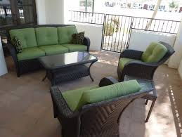 Black Wicker Patio Furniture - furniture interesting martha stewart patio furniture chairs