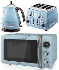 Dark Blue Toaster Microwave Tea Kettle U0026 Toaster Sets Ebay