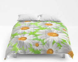 Yellow Grey And White Bedding Yellow Gray Bedding Etsy