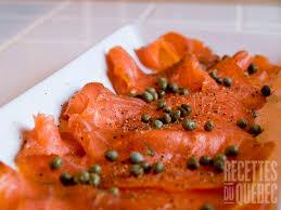cuisiner saumon fumé saumon fumé à froid recettes du québec