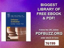 architektur software free software architektur grundlagen konzepte praxis