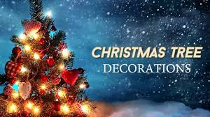 christmas tree decoration ideas with christmas tree song and