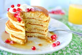 kitchen recipes eggnog pancakes tasty kitchen