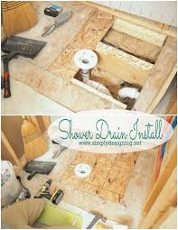 best 25 shower drain installation ideas on pinterest diy shower