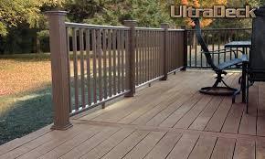 composite decking material composite fencing