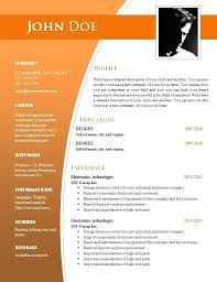 creative resume templates for free download creative resume template free download doc template free download
