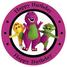 36 barney birthday theme party images barney