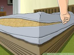 tempur pedic bed cover how to clean a tempur pedic mattress 10 steps with pictures