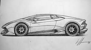 lamborghini aventador sketch drawn lamborghini lamborghini huracan pencil and in color drawn