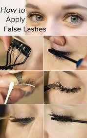 apply false lashes like a pro or a kardashian