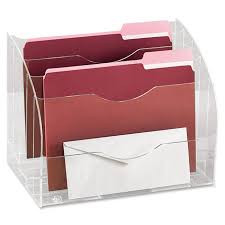 Pink Desk Organizers And Accessories by Rubbermaid 94610ros Optimizers 2 Way Organizer 13 6