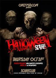 Halloween Psd Flyer Template Onlypsds Tutorials