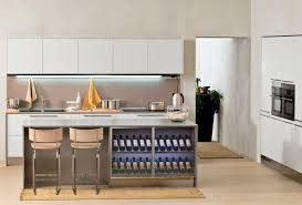 built in kitchen island accessories modern and cool wine rack on the built in kitchen