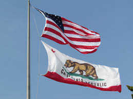 Civil Flag Of The United States From His Home In Russia Calexit Leader Plots California