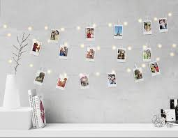 string lights with picture clips merkury innovations 15 foot mini led clip string lights mi fccb2 925