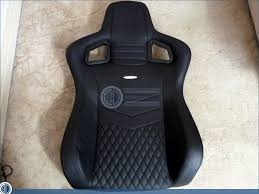 Leather Gaming Chairs Nobelchairs Epic Real Leather Gaming Chair Review The Five Star