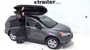 honda crv cargo box review of the yakima rocketbox pro 11 rooftop cargo box on a 2011