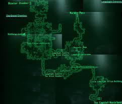 Fallout 3 Map All Locations by Image Little Lamplight Loc Map Jpg Fallout Wiki Fandom
