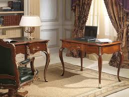 bureau classique en cuir pivotant de bureau bois classique direction en