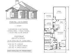under 1700 sq 3 bedroom house plans