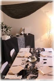 mariage baroque decoration mariage thème noir blanc mariage noir et blanc