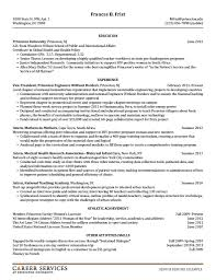 Sample Resume Business by Resume Examples For Internship Objective Resume Samples Sop