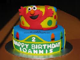 elmo birthday cakes sesame elmo birthday cake cakecentral