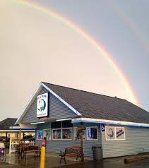 the pot of gold at the end of the rainbow picture of blue moon