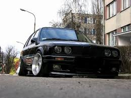 nardo grey e30 borbet a deep dish alloy wheels bmw e30 with tyres vw etc 4x100