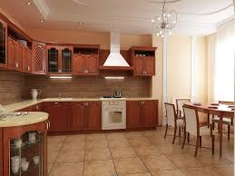 Country Kitchen Paint Color Ideas Fascinating 20 Brown Kitchen Interior Design Decoration Of Brown