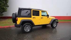 baja jeep 2015 jeep wrangler unlimted rubicon baja yellow fl560990