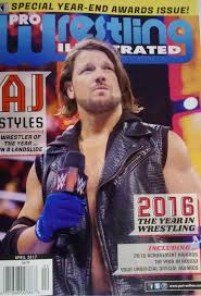 pro wrestling illustrated cover for april 2017