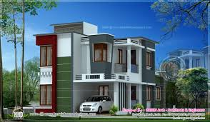 contemporary home design in 149 square meter kerala home design