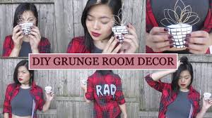 diy grunge room decor wire flower flower pot youtube