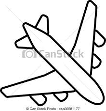 aereo clipart commercial plane illustrations and clip 9 787 commercial