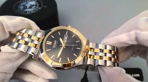 men gold tone bracelet images Men 39 s citizen eco drive two tone stainless steel watch bm8404 jpg