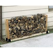furniture inspiring firewood rack with cool roof design and