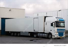 picture of big truck at loading dock