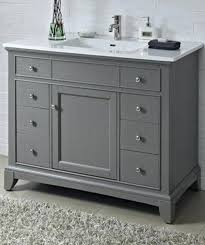 42 bathroom vanity cabinet 42 inch gray bathroom vanity contemporary inch single bathroom