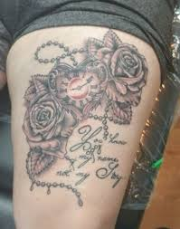 heart shaped pocket watch tattoo roses design beautiful black and