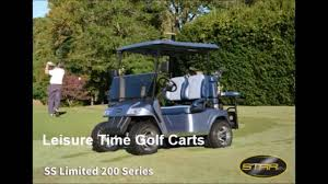 leisure time golf carts products youtube