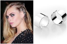 ear cuff images ideas of matching ear cuffs with hair style from