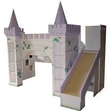 Princess Castle Bunk Bed Fairy Princess Castle Bunk Bed With Slide And Luxury Baby Cribs In