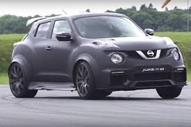 nissan 350z quad turbo video an unlikely showdown between a juke r and a gt r