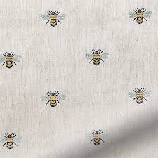 Roman Blinds Pattern Bees Roman Blind