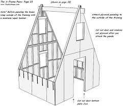 a frame blueprints tiny eco house plans by keith yost designs