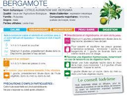 bergamote cuisine bergamote citrus aurantium var bergamia ladrôme 10 ml