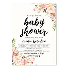 babyshower invitations best 25 baby shower invitation templates ideas on