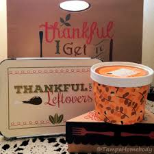 thanksgiving carry out containers ta homebody